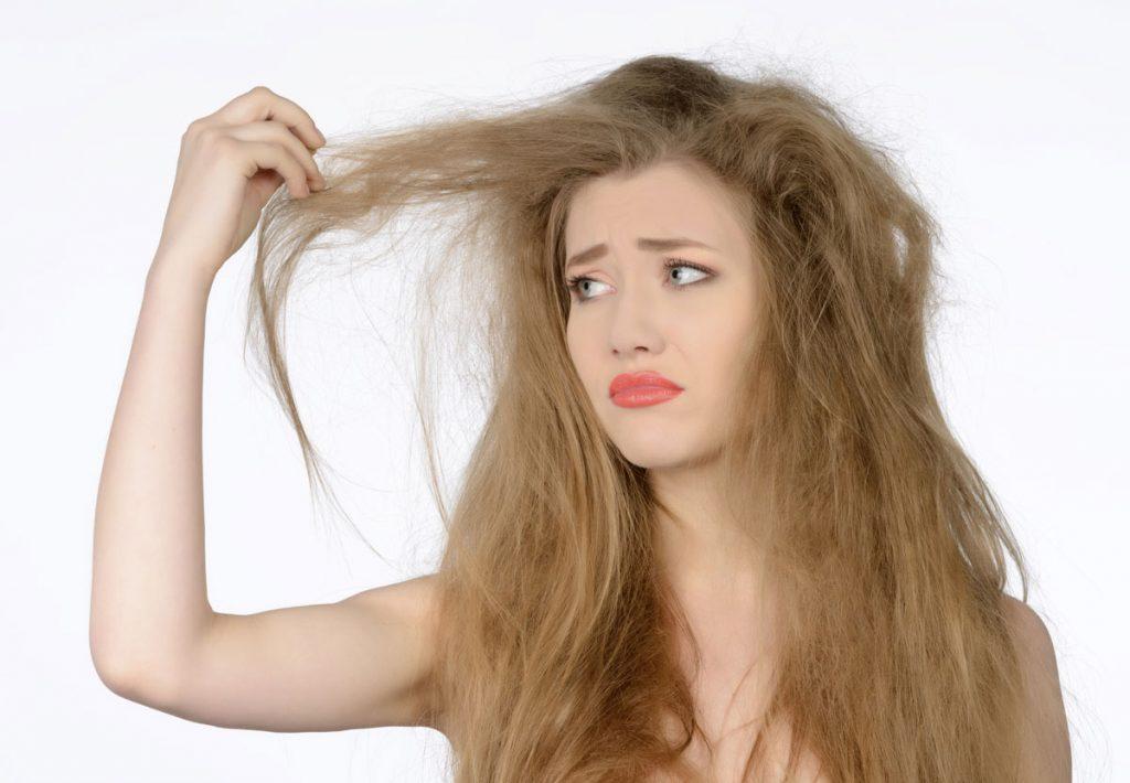 Consigli per i capelli secchi